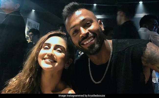Krystle D'Souza, Trolled For Posting 'Mere Bhai' Pic With Hardik Pandya, Jumps To His Defence