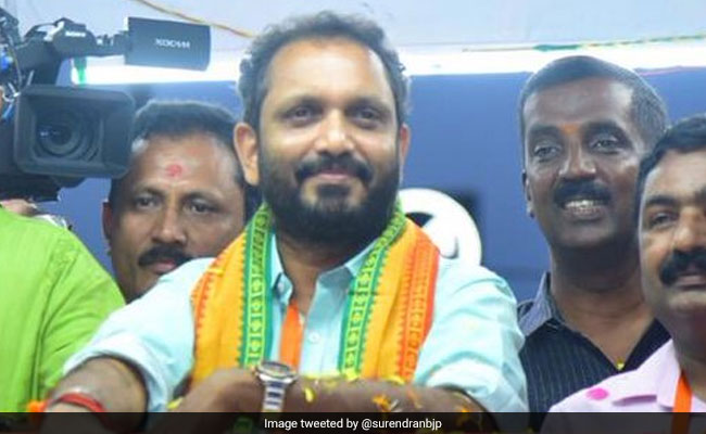 BJP's Kerala Candidate K Surendran Has 240 Criminal Cases