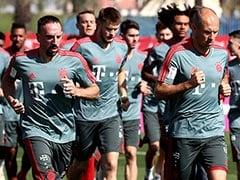 Bundesliga: Robben, Ribery Hope To Return For Nervy Title Run-In