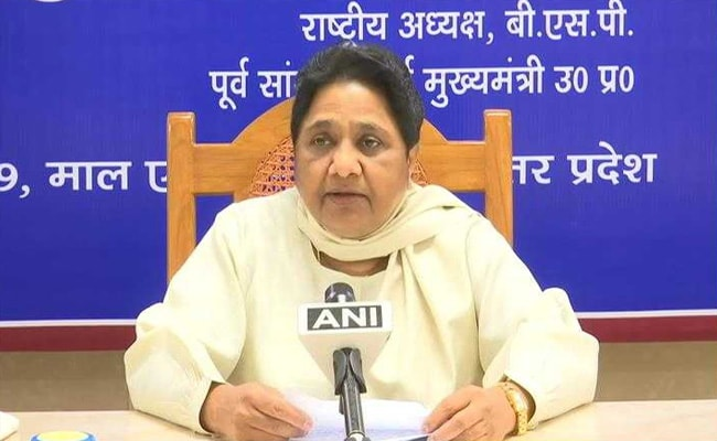 Tax Officials Attach Rs 400 Crore Plot Belonging To Mayawati's Brother