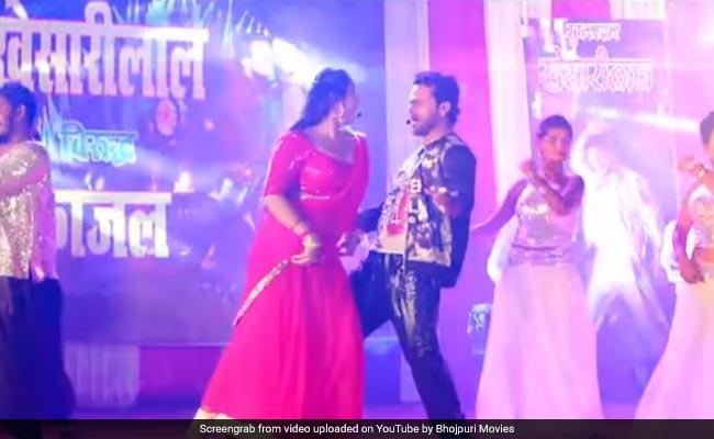 Bhojpuri Cinema: खेसारी लाल यादव और काजल राघवानी ने किया धमाकेदार डांस, बार-बार देखा जा रहा Video