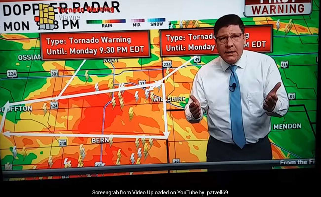 Weatherman Snaps At Viewers During Tornado Warning. Here?s Why