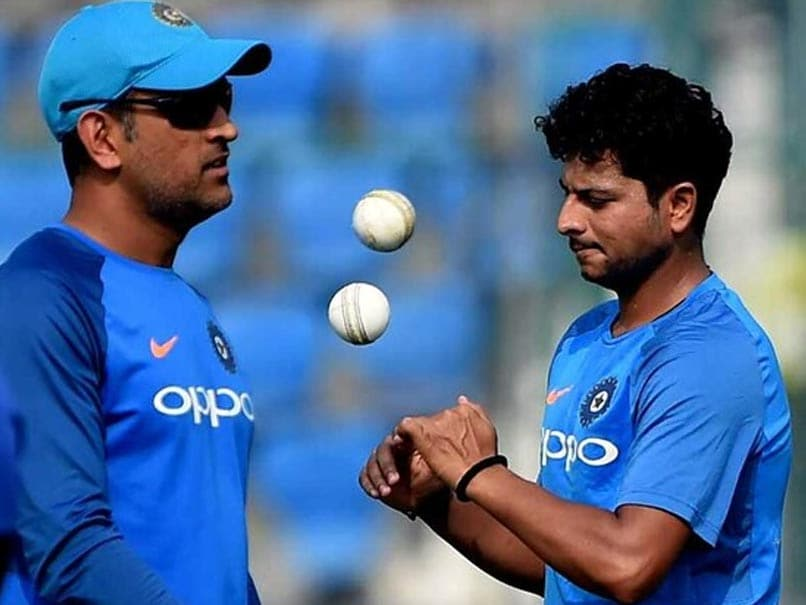 "MS Dhoni ""Goes Wrong Lot Of Times"" With His Tips, Reveals Kuldeep Yadav"