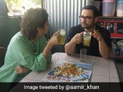 Aamir Khan's Energy Drink For Labour Day <I>Lagaan</I> Is 'Best <I>Ganney-Ka-Juice</i>' With Wife Kiran Rao