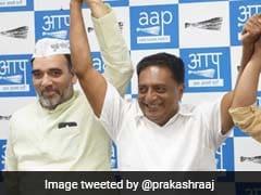 General Election 2019: Prakash Raj Begins Week-Long Campaign For AAP In Delhi