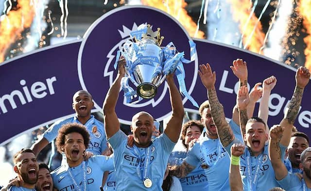 Manchester City Retain The Premier League Title In A Dicade