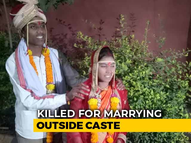 Video : Young Couple Set On Fire; Woman's Family Was Against Inter-Caste Marriage