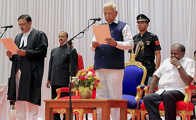Justice Shreeniwas Oka Sworn-In As Chief Justice Of Karnataka High Court