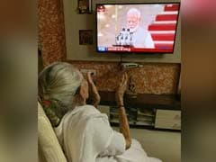 As PM Modi Took Oath, His Mother Watched From Hundreds Of Miles Away