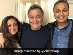 Rishi Kapoor's Rendezvous With His <i>Karz</i> Co-Star Tina Munim In New York
