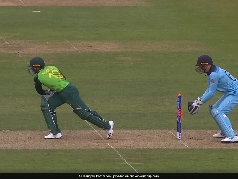 Watch: Adil Rashid Denied Quinton De Kock