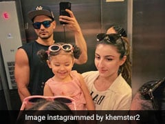 Soha Ali Khan And Kunal Kemmu's Daughter Inaaya Had The 'Bestest' Birthday Gift For Her Dad