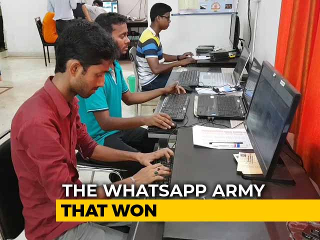 How Bengal BJP's 'WhatsApp Army' Contributed To Party's Victory