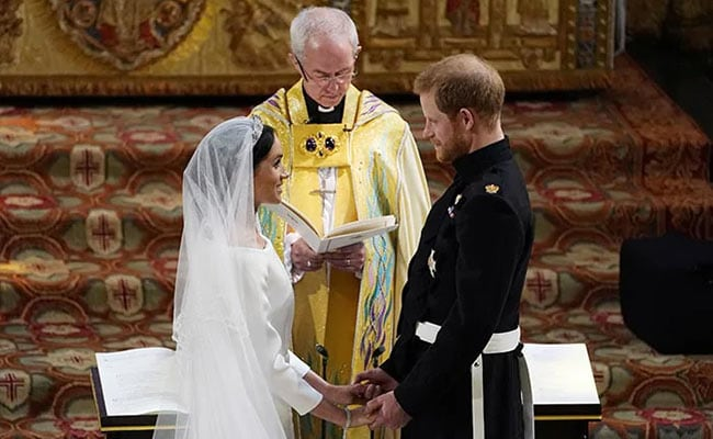 On Prince Harry, Meghan Markle's Anniversary, A Peek Into Their Wedding Album