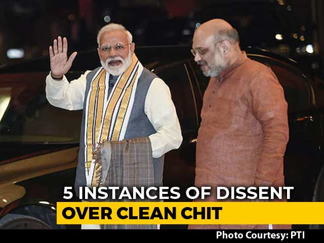 Video : Poll Officer Dissented In 5 Cases Of Clean Chit To PM, Amit Shah: Sources