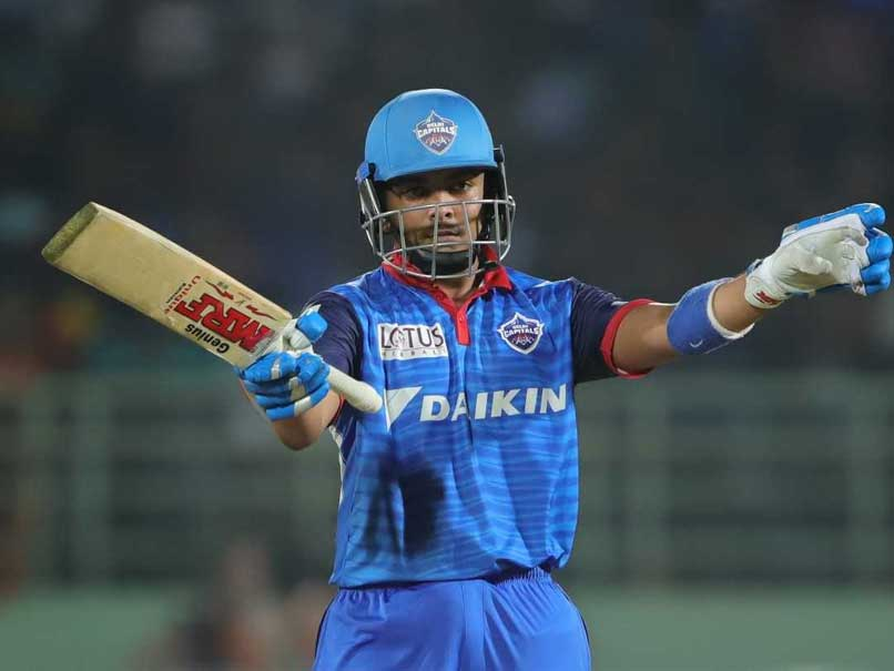 Prithvi Shaw Happy About His Knock Against SRH, Says It Came At The Right Time