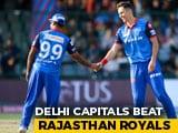 Delhi Capitals End Rajasthan Royals' Run In IPL 2019