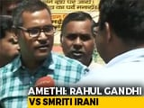 Video : It's Rahul Gandhi vs Smriti Irani In Amethi As Congress Stronghold Goes To Polls