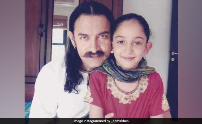 Aamir Khan Struck Gold In His Photo Archive On Daughter Ira's Birthday