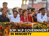 Video : Madhya Pradesh Government In Minority, Says BJP In Letter To Governor