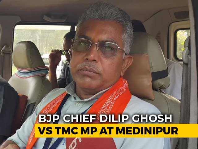 Video : Trinamool Congress Is Resorting To Violence: Bengal BJP Chief Dilip Ghosh