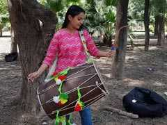 Young Dhol Player Has A Message For First Time Voters In Punjab
