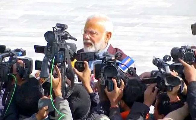 PM मोदी से पत्रकार ने पूछा- क्या केदारनाथ में चुनाव जीतने की मन्नत मांगी? तो दिया यह जवाब