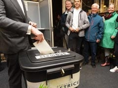 European Union Elections Kick Off As Polls Open In Britain, Netherlands