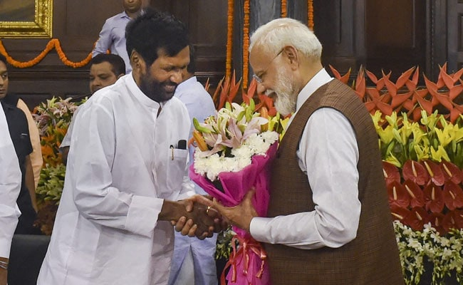 Pm Modi Cabinet Ram Vilas Paswan New Cabinet Minister Who Has Worked Under 6 Pms