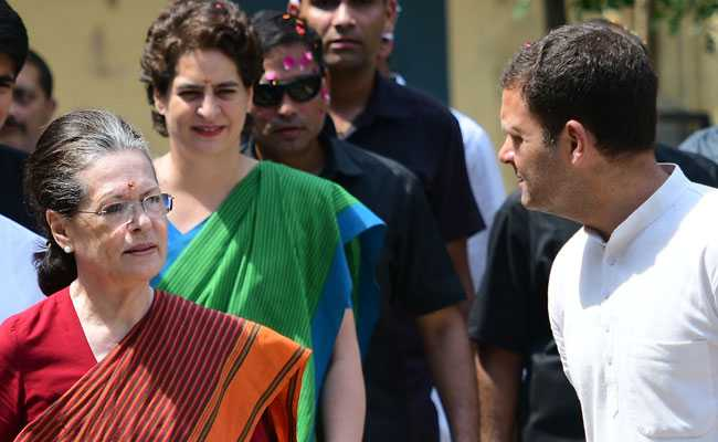 Sonia Gandhi's Flight From Raebareli To Delhi Delayed Due To Bad Weather