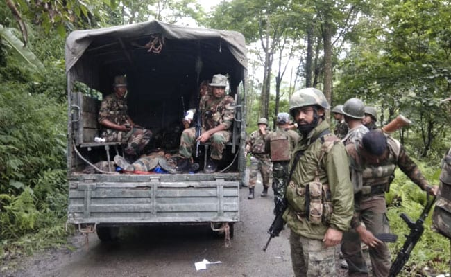 2 Killed As Terrorists Ambush Assam Rifles Personnel In Nagaland