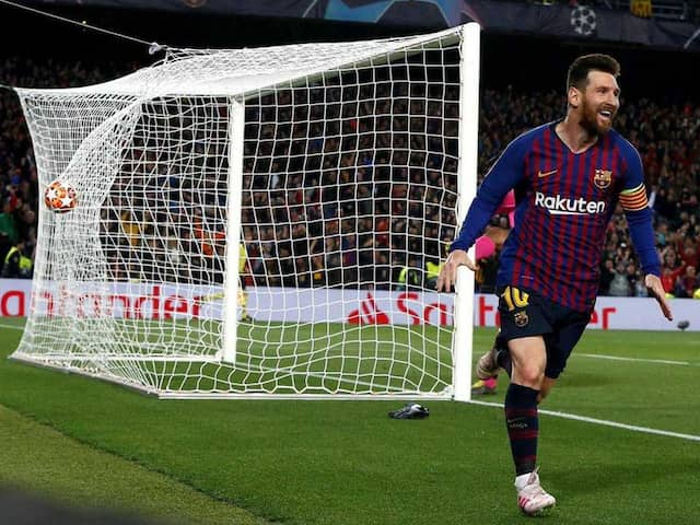FOOTBALL: Mohamed Salah couldnt Stop Lionel Messi as Barcelona wins