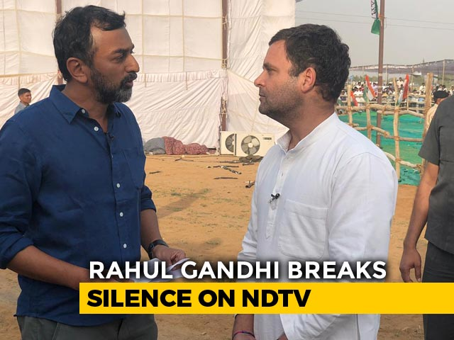 Video : NDTV Exclusive: Rahul Gandhi's First TV Interview This Election Season