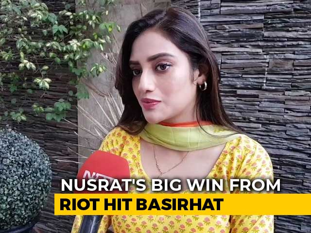 Video : First-Time Lawmaker, Trinamool Congress's Nusrat Jahan, Has Big Plans For Bengal's Basirhat
