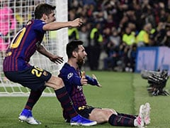 Lionel Messi Double Downs Liverpool In Champions League Semi-Final First Leg