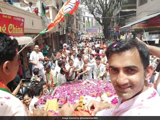 All You Need To Know About Gautam Gambhirs Political Career, Poll Rivals