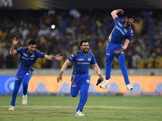 "Rohit Sharma Calls Lasith Malinga ""Champion"" After Mumbai Indians 4th IPL Victory"