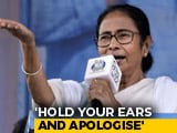 """Video: PM """"Drenched In Blood"""", Says Mamata Banerjee After """"Extortionist"""" Dig"""