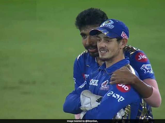 MI vs CSK, IPL Final: Jasprit Bumrah wins hearts with his gesture also