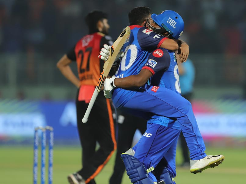 IPL 2019: Rishabh Pant, Keemo Paul Star As Delhi Capitals Beat SunRisers Hyderabad To Enter Qualifier 2