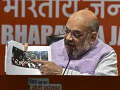 """""""Wouldn't Have Escaped Unhurt But For CRPF"""": Amit Shah On Kolkata Clashes"""