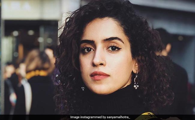 Sanya Malhotra To Star In Oscar-Winning Producer Guneet Monga's Next