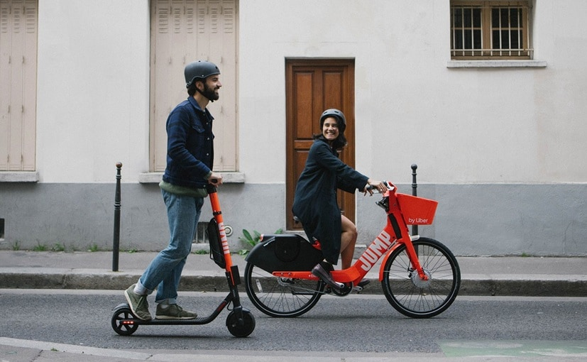 Electric JUMP bikes are already available around the world including in the United States and Canada