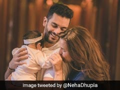 How Adorable Is Neha Dhupia and Angad Bedi's Photo With Their 6 Month Old Daughter Mehr