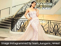 Cannes 2019: Kangana Ranaut Goes To The Ball In A Fairytale Gown
