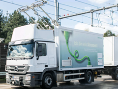 Germany Gets Its First Electric Highway For Hybrid Trucks
