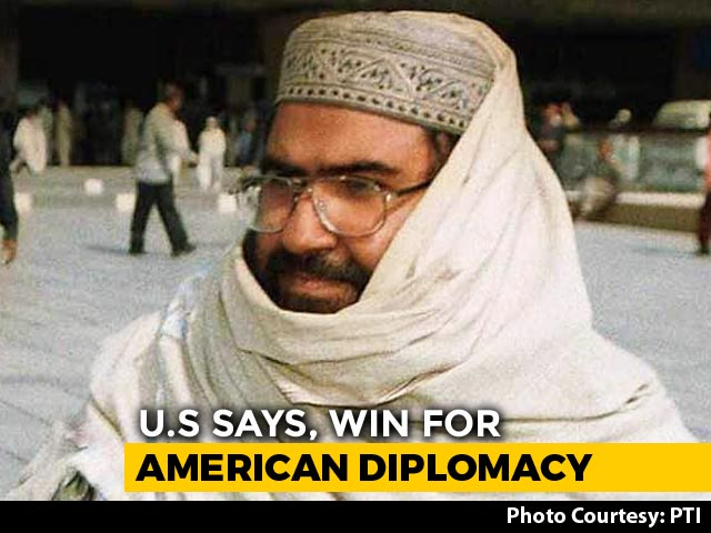 "Video : ""Victory For American Diplomacy"": Mike Pompeo On UN Ban On Masood Azhar"