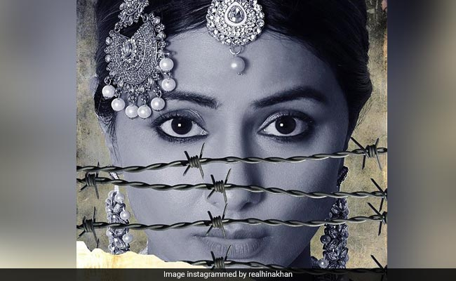 Line First Look: Hina Khan Shared The Poster Of Her Debut