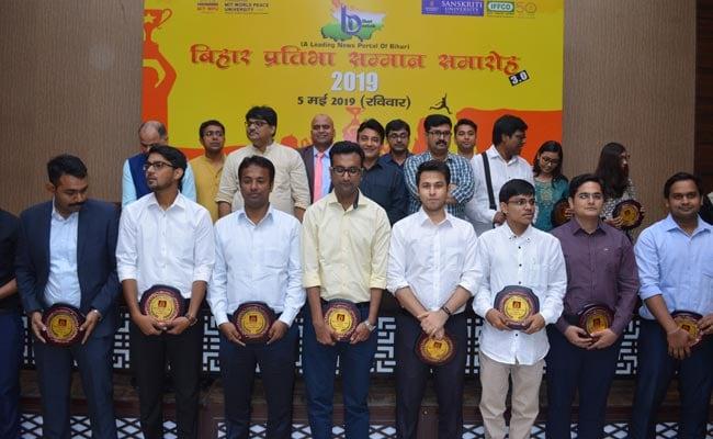 सिविल सेवा में चयनित बिहार के 40 युवाओं को 'बिहार गौरव सम्मान' से किया गया सम्मानित