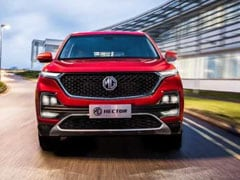 MG Motor Temporarily Stops Accepting Bookings For The Hector
